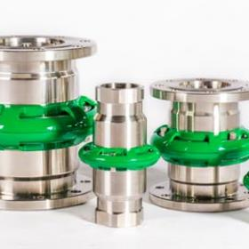 Mann-Tek Cryogenic Brekaway Couplings