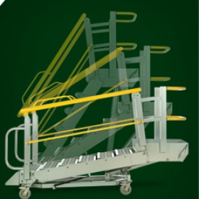Roll-A-Step Mobile Access Platforms