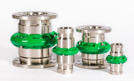 Mann-Tek Cryogenic Breakaway Couplings