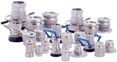 Mann-Tek Dry Disconnect Couplings