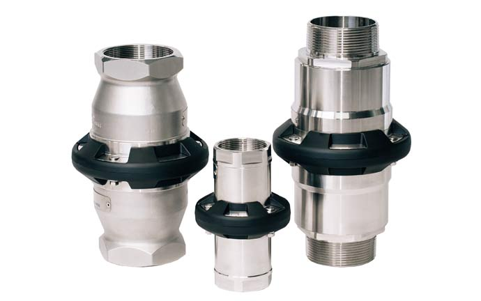 Mann-Tek Safety Breakaway Couplings