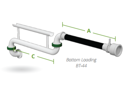 Excel Bottom Loading Arms - Bottom Transfer Arms | Arm-Tex