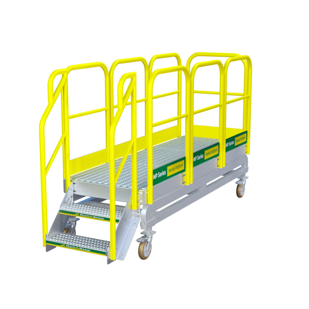 "RollaStep MP27 - 27"" High Mobile Work Platform"