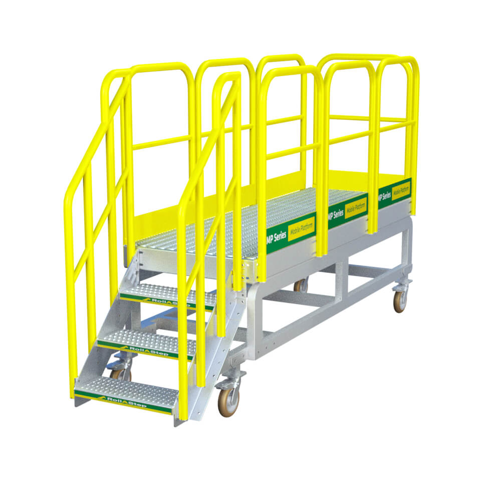 "RollaStep MP36 - 36"" High Mobile Work Platform"
